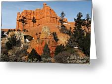 Red Canyon - Scenic Byway 12 Greeting Card