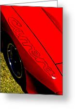 Red Carrera Greeting Card by Phil 'motography' Clark