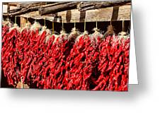 Red Chili Ristras Greeting Card