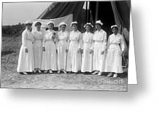 Red Cross Nurses, 1916 Greeting Card