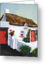 Red Door Cottage Like Maggies Greeting Card