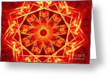 Red Dynasty Greeting Card