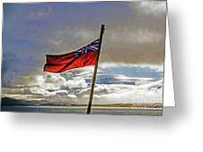 Red Ensign Greeting Card