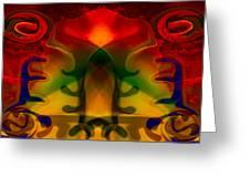 Red-eyes Black Dragon Greeting Card