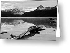 Red Fish Lake Idaho Greeting Card