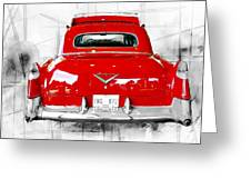 Red Fleetwood Greeting Card
