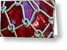 Red Float Greeting Card