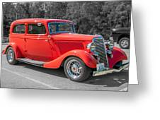 Red Ford 3d21740 Greeting Card
