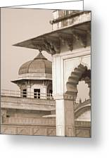 Red Fort Greeting Card