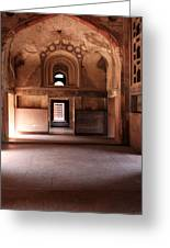 Red Fort Agra India Greeting Card