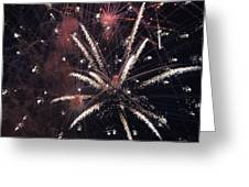 Red Glare Greeting Card