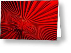 Red Glass Abstract 6 Greeting Card