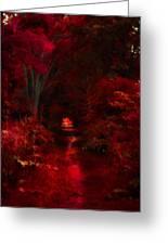 Red IIi Greeting Card