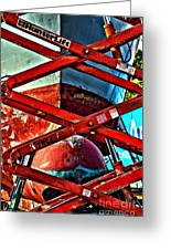 Red Lift Greeting Card