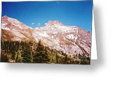 Red Mountain Pass Greeting Card