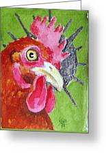Red Nugget Greeting Card