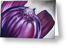 Red Onion Greeting Card
