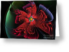 Red Passion Greeting Card