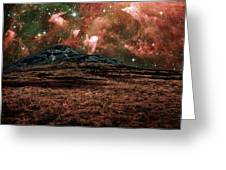 Red Planet Greeting Card