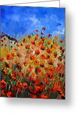 Red Poppies 562111 Greeting Card