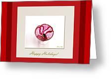 Red Poppy Greeting Card by Oksana Semenchenko