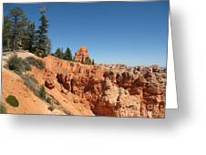 Red Red Rocks Greeting Card