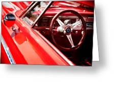 Red Ride Greeting Card