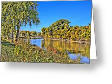 Red River Beginning Fall Greeting Card