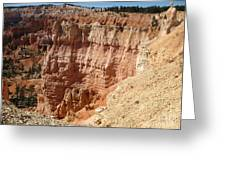 Red Rock Bryce Canyon  Greeting Card