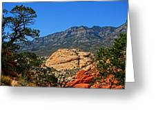 Red Rock Canyon 4 Greeting Card