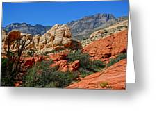 Red Rock Canyon 5 Greeting Card