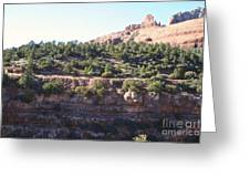 Red Rock Canyon In Arizona Greeting Card