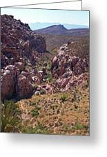 Red Rock Canyon Iv Greeting Card