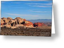 Red Rock Canyon Las Vegas Greeting Card