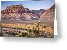 Red Rock Canyon Lv Greeting Card