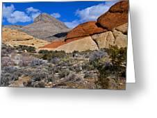 Red Rock Canyon Nevada Greeting Card