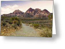Red Rock Canyon Trailhead Greeting Card