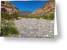 Red Rock Canyon V Greeting Card