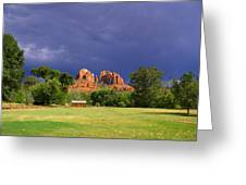 Red Rock Crossing Park Greeting Card