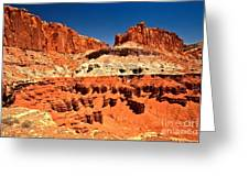 Red Rock Ridges Greeting Card
