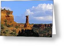 Red Rock Secret Mountain Greeting Card