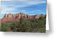 Red Rock Views Greeting Card