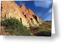 Red Rocks 4 Greeting Card