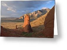 Red Rocks 6 Greeting Card