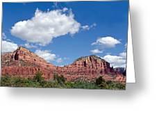Red Rocks In Sedona Arizona Greeting Card