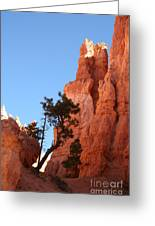 Red Rocks Of Bryce Canyon  Greeting Card