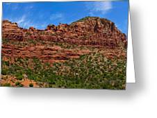 Red Rocks Of Sedona  Greeting Card