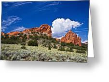 Red Rocks In Colorado Greeting Card