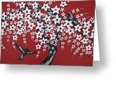 Red Romance Greeting Card