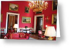 Red Room White House Greeting Card